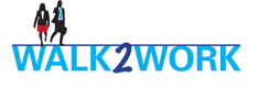 walk2work logo